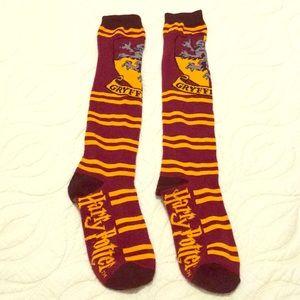 🌸LN Harry Potter Gryffindor knee socks